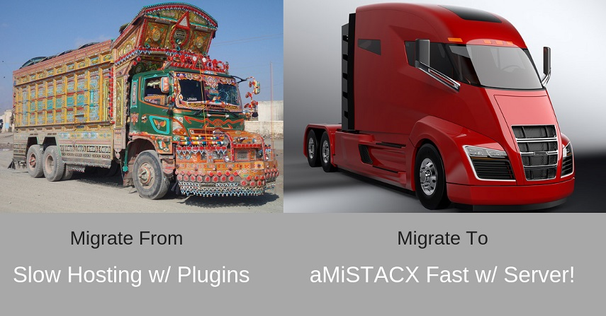 Migrate to aMiSTACX on AWS